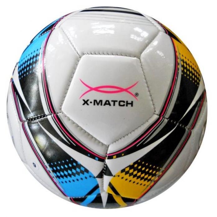 Мяч X-Match Футбольный 2 слоя PVC 56411