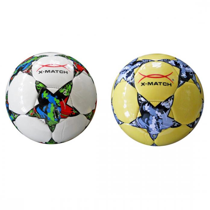 Мяч X-Match Футбольный 2 слоя PVC 56413