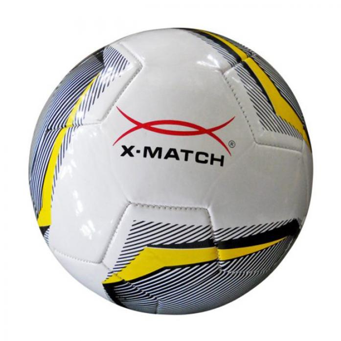 Мяч X-Match Футбольный 2 слоя TPU 56420