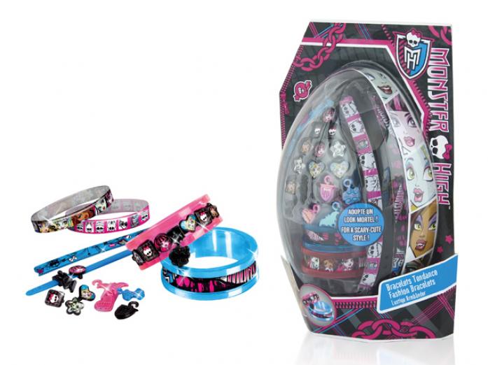 Набор Canal Toys МНС032 для создания браслетов, в блистере Monster High