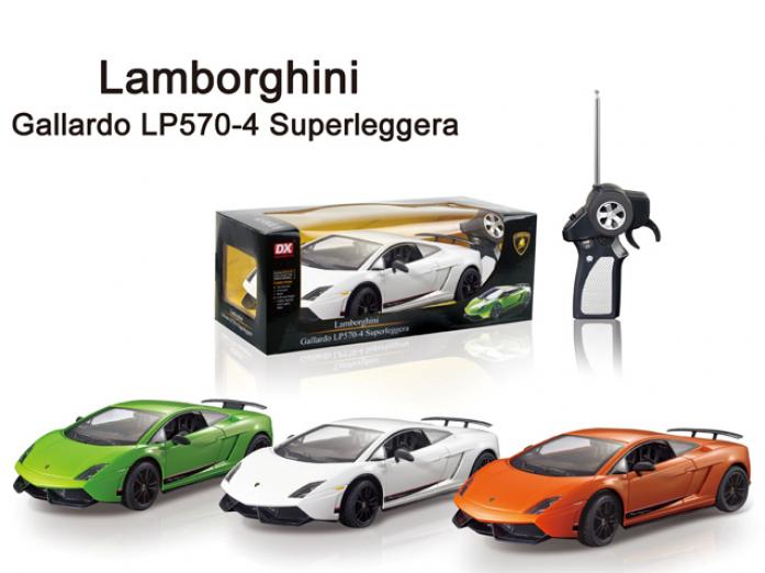 Игрушка DX Р/у 1: 18 Машина Lamborghini Gallardo LP570-4 Superleggera DX111805, со светом, на батарейках