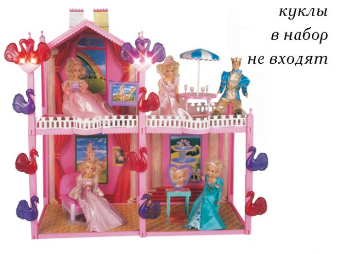 Игрушка KKT Дом 604 с мебелью, 101 деталь, в коробке