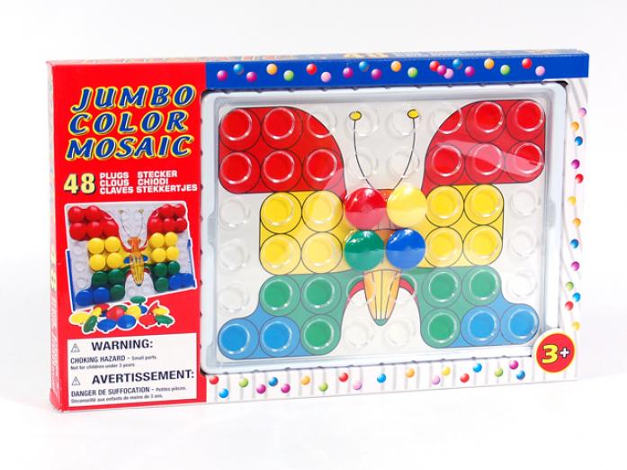 Игра Mountains Мозаика GT4954 48 элементов, в коробке 42*26,5*3,2см