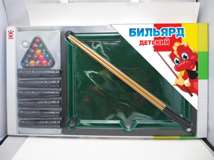 Игра TOP TOYS Бильярд GT8906 в блистере, 40*32*15см,