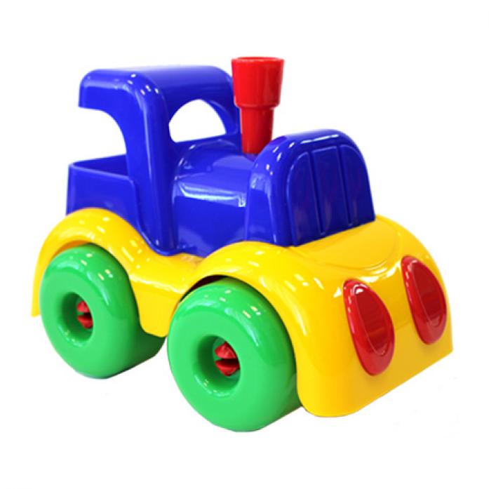 Игрушка Плейдорадо Паровозик 31833 МалышОК Пластмастер