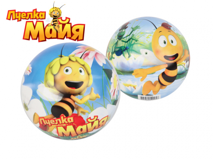 Мяч Пчелка Майя ПВХ GT6574 Майя и Вилли 17см