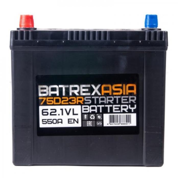 Аккумулятор BATREX ASIA 62 А/ч EN550