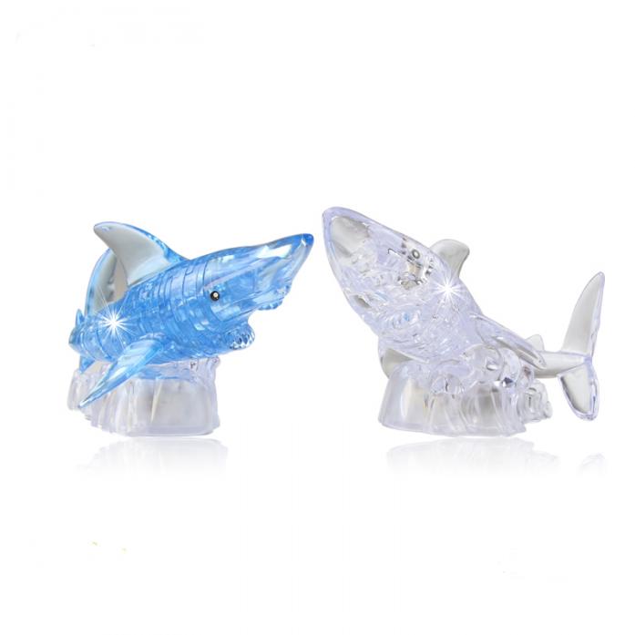 Пазлы Crystal Puzzle Акула 40 деталей 9060