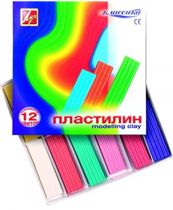 Пластилин ЛУЧ Классика Детство 7С331-08
