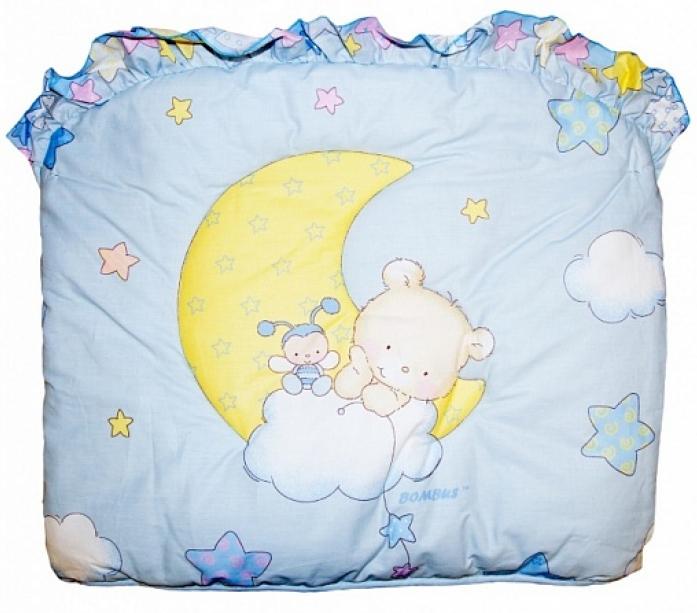 Бампер в кроватку Bombus Павлуша 4032 голубой