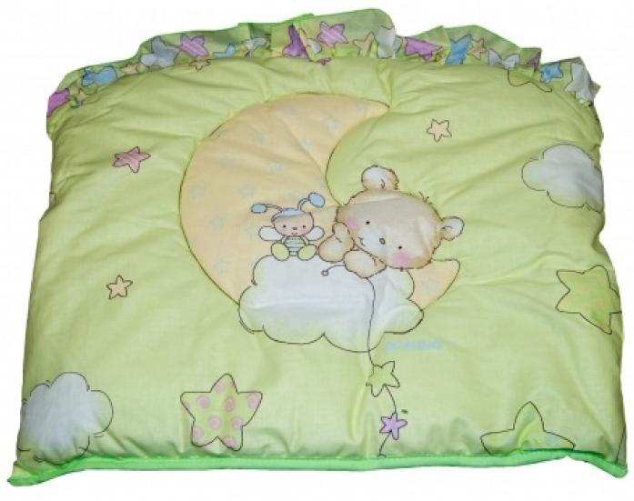 Бампер в кроватку Bombus Павлуша 4034 зеленый