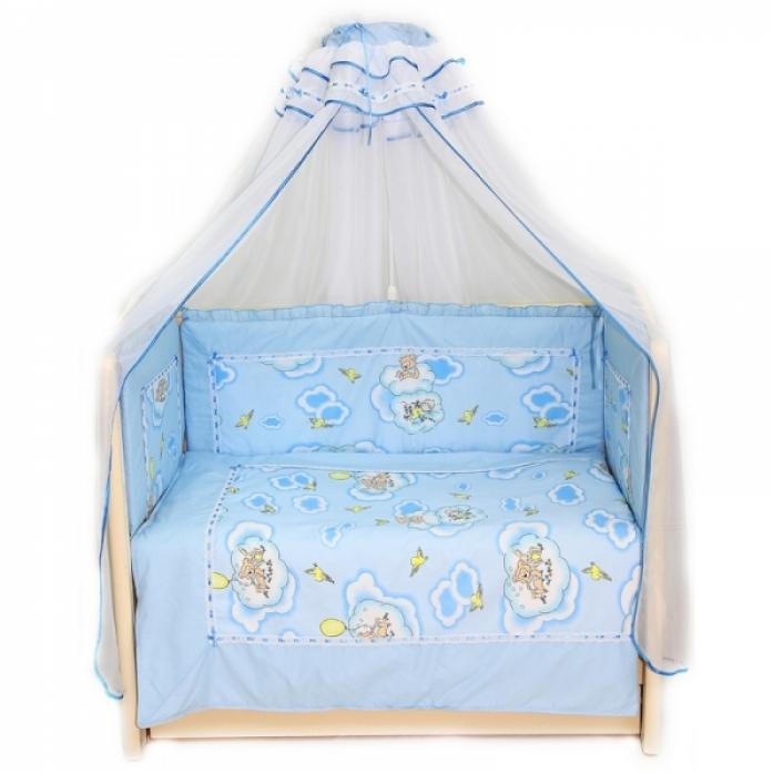 Бампер в кроватку Bombus Сладкий сон 4162 голубой