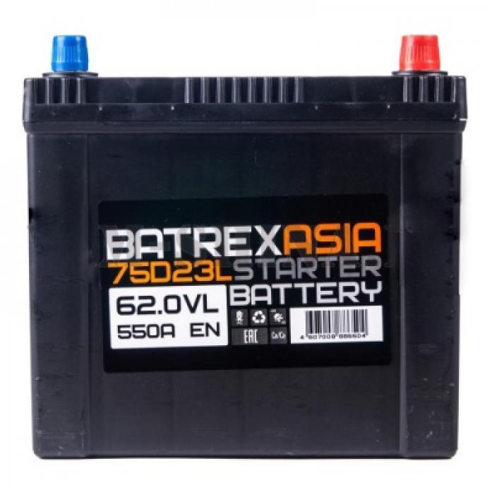 Аккумулятор BATREX ASIA 62 А/ч обр EN550