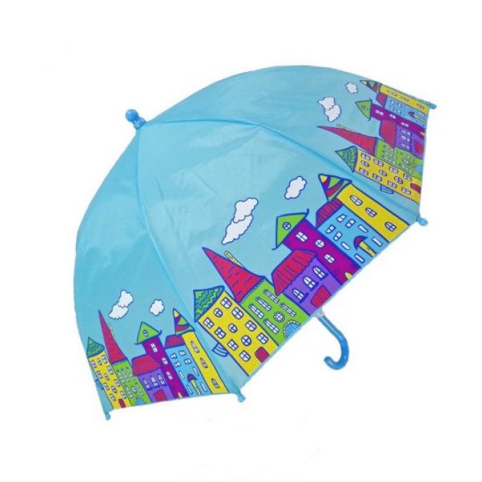 Зонт детский Mary Poppins Домики 46 см 53588