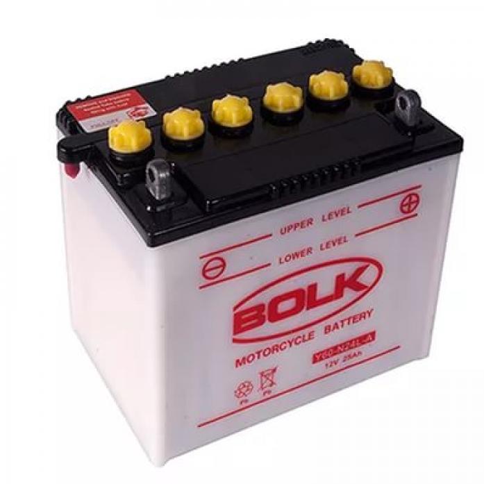 Аккумулятор BOLK MOTO 12V25 BK 31020 (525015-Y60-N24L-A) сухой