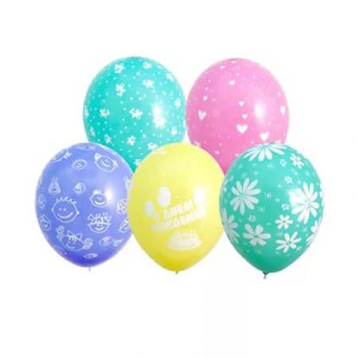 Набор шаров Веселая Затея Шелкография 1111-0111