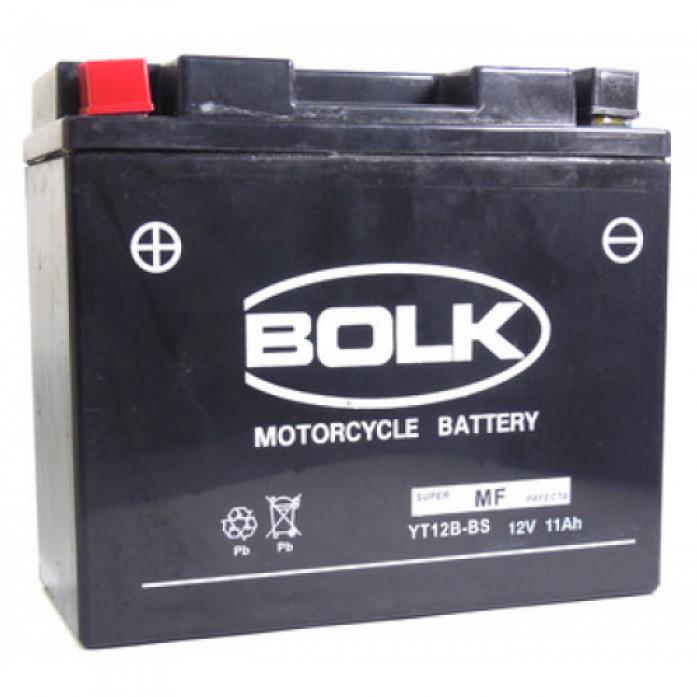 Аккумулятор BOLK MOTO Super 12V11 BK 32012 (512901-YT12B-BS)