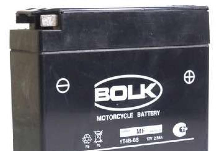 Аккумулятор BOLK MOTO Super 12V2.5 BK 32000 (503902-YT4B-BS)