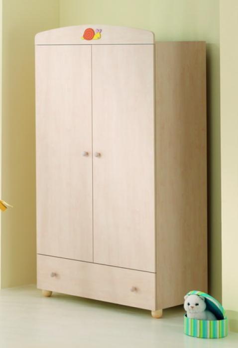 Шкаф детский Mibb А. 360 Lumachina беленый