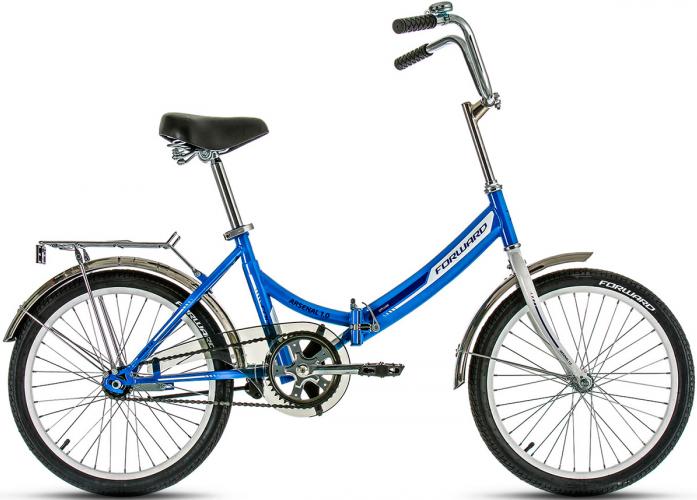 Велосипед Forward ARSENAL 1.0 2017 синий