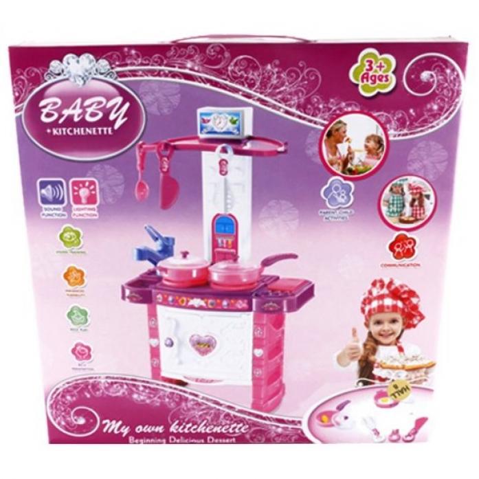 Игровой набор Shantou Gepai Кухня с набором посуды 3396