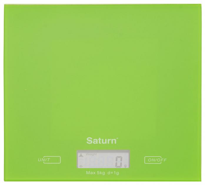 Кухонные весы Saturn ST-KS7810 green