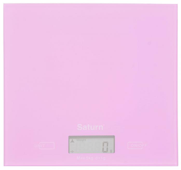 Кухонные весы Saturn ST-KS7810 pink