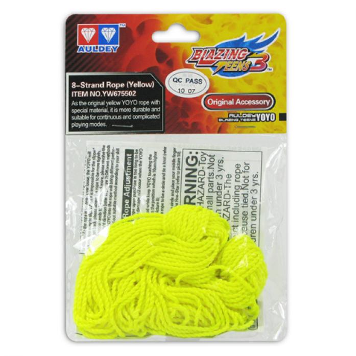 Веревка Blazing Teens YW675502 Hyper String Type для Йо-Йо желтая 8шт
