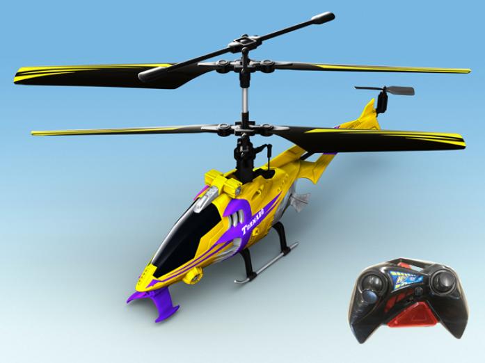 Вертолет Auldey YW858513 TORNADO на ИК управлении с гироскопом 22см 3 канала