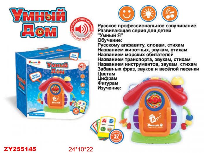 Дом Zhorya ZYE-E0075 обучающий Умный Я с карточками