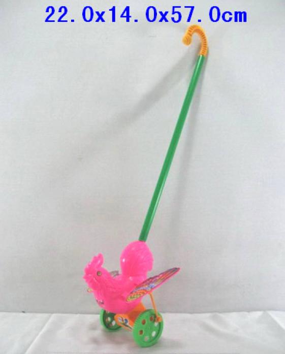 Каталка Shantou Gepai розовый петушок 6603-2H-S
