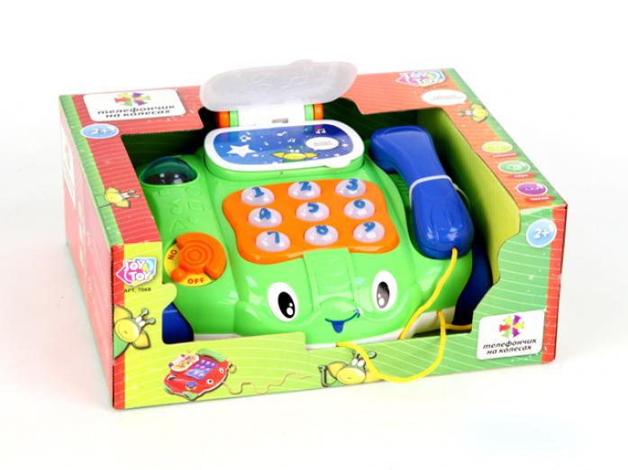 Каталка Joy Toy Телефончик на колесах 7068