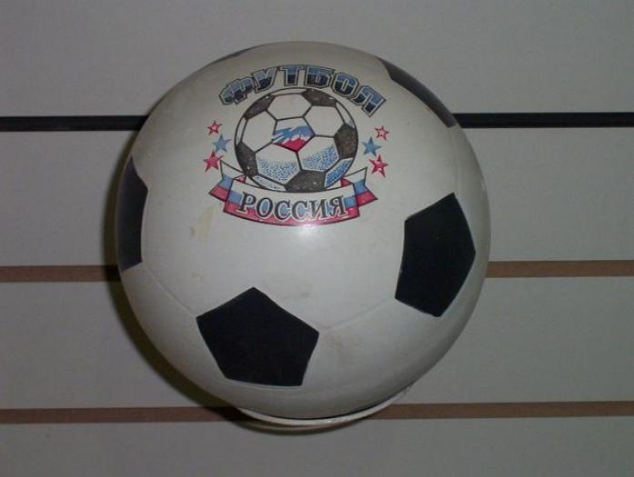 Мяч Мячи-Чебоксары 44112/с-56ПЭ футбольный с эмблемой 200мм