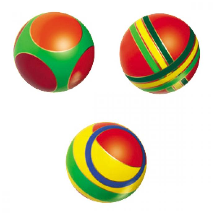 Мяч Мячи-Чебоксары с кругами 150мм 44122/с-101ЛП
