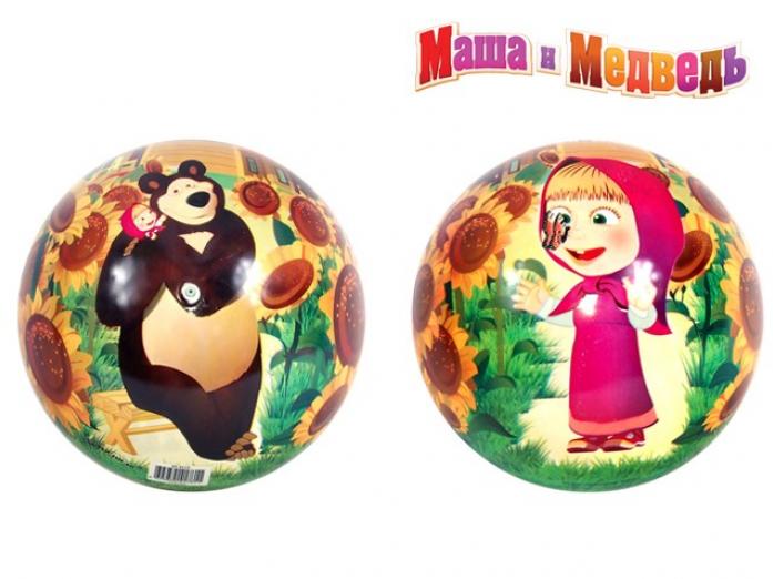 Мяч Маша и Медведь ПВХ GT3117 23 см