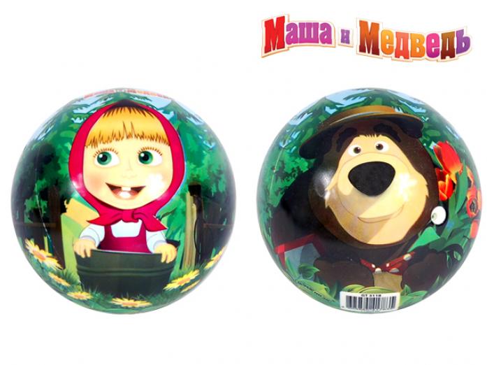 Мяч Маша и Медведь ПВХ GT3118 17 см