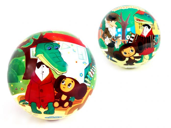Мяч Союзмультфильм ПВХ GT5610 Чебурашка и Крокодил Гена 23 см