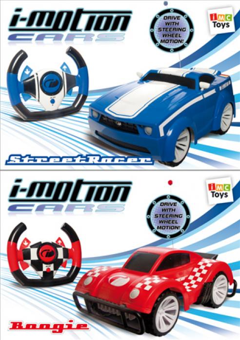 Машина Imc Toys на радиоуправлении 7338 с рулем