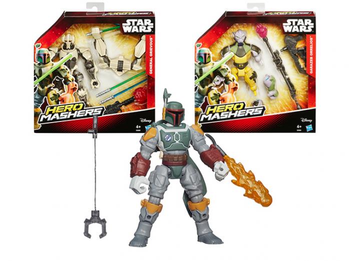 Фигурка Hasbro B3666 Star Wars разборная с оружием