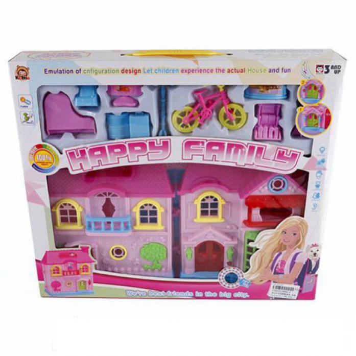 Игровой набор Shantou Gepai Вилла Счастливая семья KB99-6