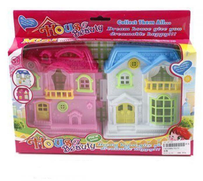 Игровой набор Shantou Gepai Домик для куклы складной 017C