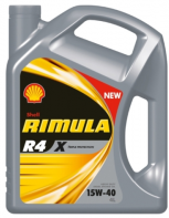 Масло моторное SHELL Rimula R4 X 15W40 4л