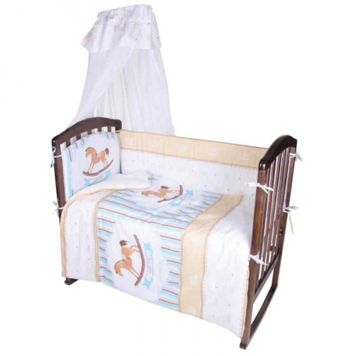 Комплект в кроватку Ifratti Лошадка 7пр КВ-107