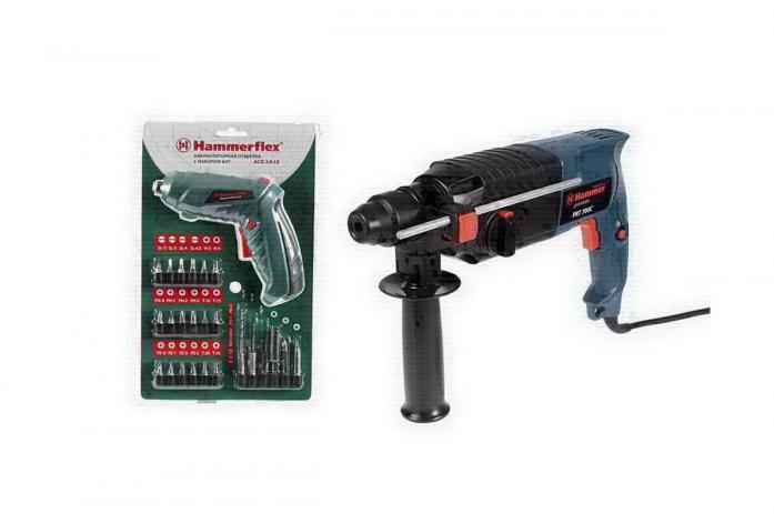 Набор инструментов Hammer Premium PRT700C и Flex ACD3.6LE