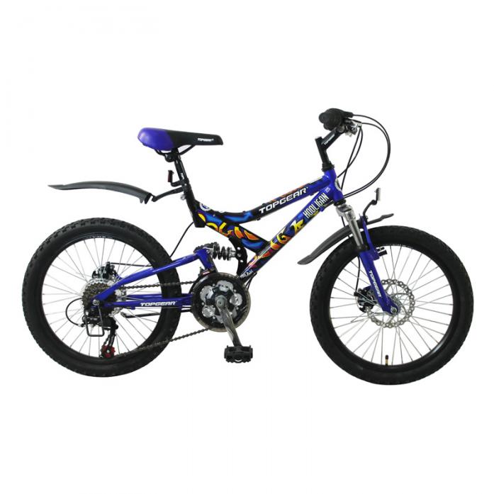 Велосипед Top Gear 20 Hooligan 225 синий ВН20038