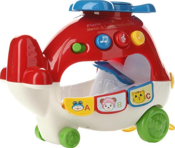 Каталка Joy Toy Вертолетик логика 0931