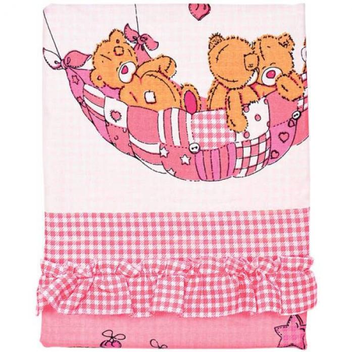 Комплект Soni Kids Луняшки 7пр Баю-Бай 30745 розовый