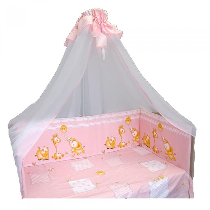 Комплект Soni Kids Луняшки- Друзья 7пр 33545 розовый