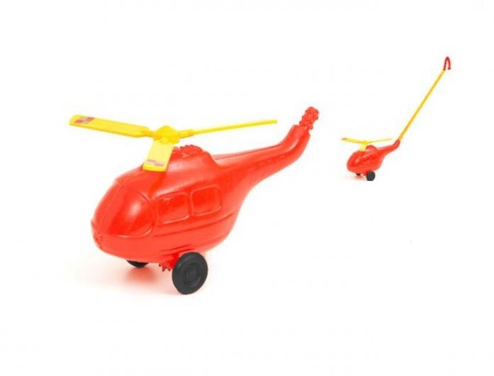 Каталка Польская пластмасса Вертолет PL7033