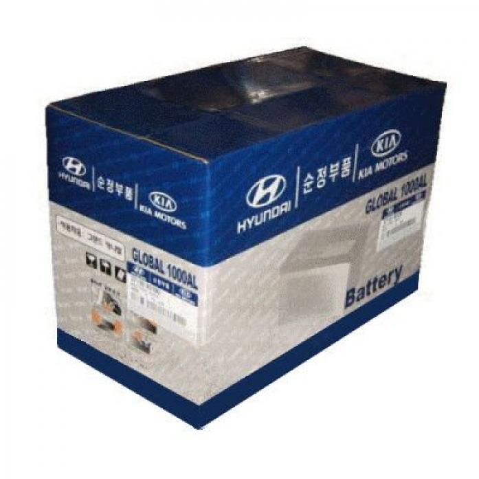 Аккумулятор Hyundai/Kia 40 А/ч прямая L+ 37110-07100